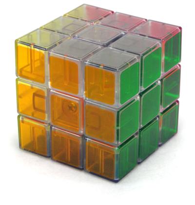 3x3x3 transparent